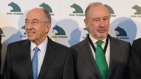 Rodrigo Rato y Miguel Ángel Fernández Ordóñez