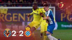 Copa del Rey: Villarreal – Espanyol. Partido de hoy de Copa del Rey, en directo.