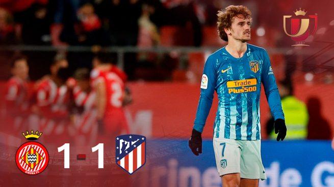 El Atlético lo deja para el Wanda (1-1)