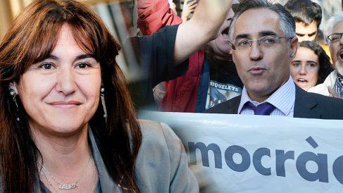 Laura Borràs y Ramón Tremosa
