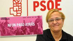 La portavoz del PSOE en la Comisión de Igualdad del Congreso, Ángeles Álvarez.