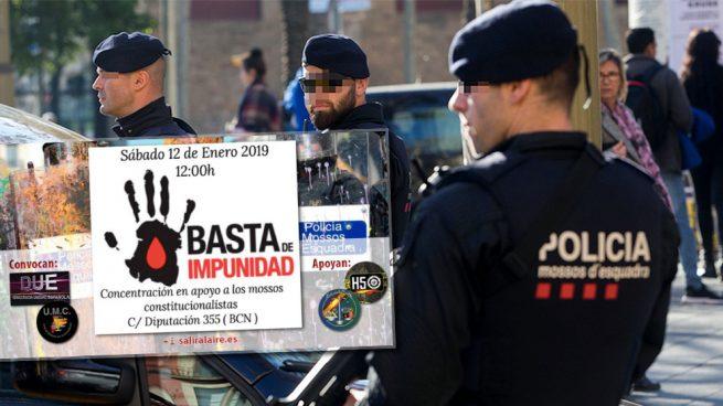 Policías, guardias civiles y mossos leales al Estado exigen la despolitización de la policía catalana