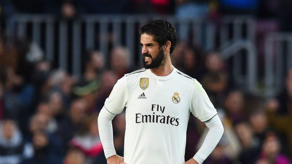 Isco, durante un partido del Real Madrid. (Getty)