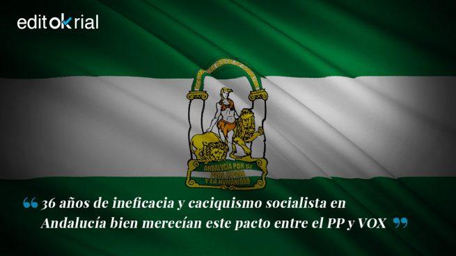 Andalucía se libra del caciquismo socialista
