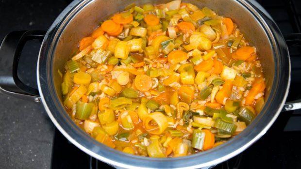 estofado de verduras