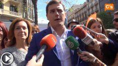 Albert Rivera en 2015: «Cuando Ciudadanos gobierne Cataluña hará del día de Sant Jordi la Diada de todos los catalanes»