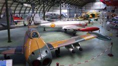 Uno de los hangares del Museo de Cuatro Vientos.