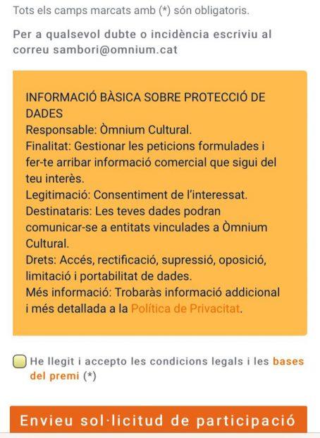 Los jesuitas de Barcelona obligan a sus alumnos a presentarse a un concurso de la golpista Òmnium