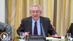 José Luis González Cussac, catedrático de Derecho Penal de la Universidad de Valencia, este jueves en el Congreso.
