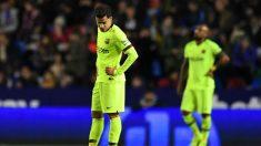 Coutinho, en el Levante – Barcelona de Copa