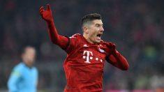El Bayern de Múnich no tiene contento a Lewandowski con su política de fichajes. (AFP)