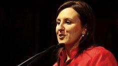 María José Catalá, candidata del PP al Ayuntamiento de Valencia. (Foto: GVA)
