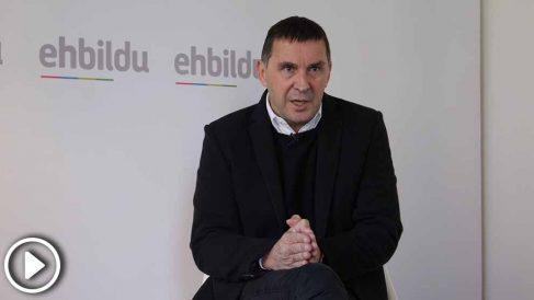 """Arnaldo Otegi afirma que Zaplana y todos los presos enfermos de ETA """"tienen que estar en libertad"""""""