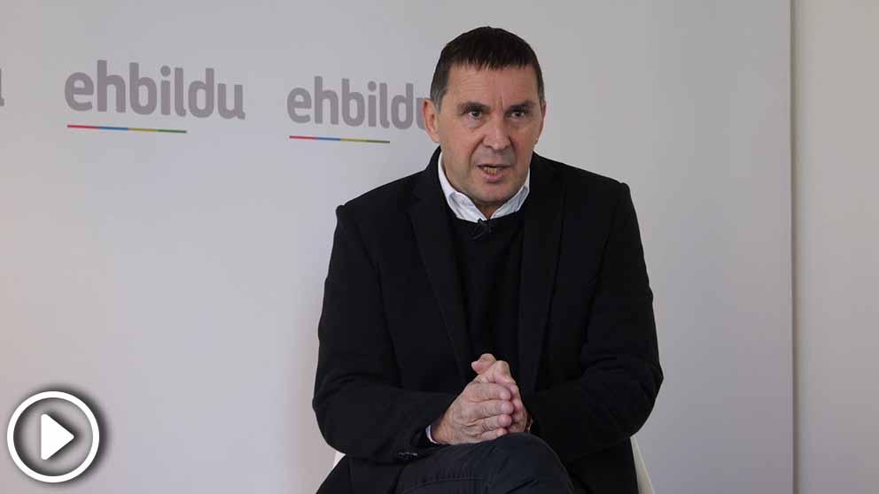 Arnaldo Otegi afirma que Zaplana y todos los presos enfermos de ETA «tienen que estar en libertad»