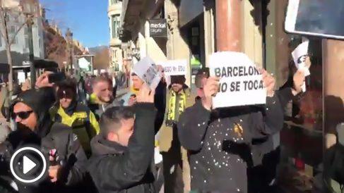 Acoso a las VTC en Barcelona