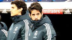 Isco, suplente también en el partido de Copa ante el Leganés. (Enrique Falcón)