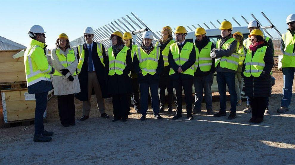 Las cuatro plantas fotovoltaicas en Alcázar permitirán duplicar la potencia del municipio a final de año (Foto: Europa Press)