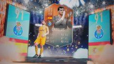 La carta de la controversia de Casillas en el FIFA 19.