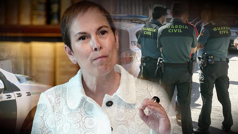 Uxue Barcos, presidenta de Navarra, ya sabe cuánto le costará prescindir definitivamente de la Guardia Civil
