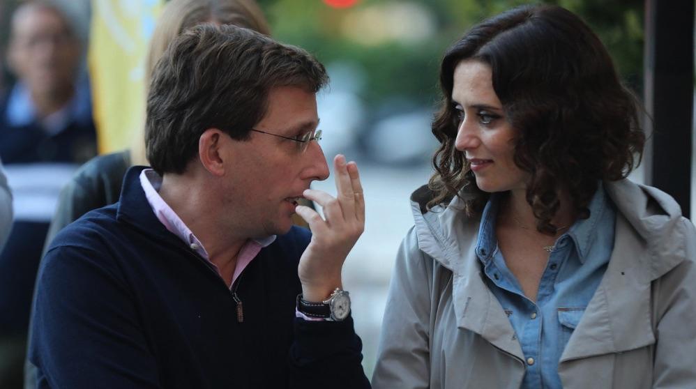 José Luis Martínez-Almeida e Isabel Díaz Ayuso. (Foto. PP)