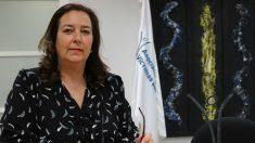 Maite Artaluce, presidenta de la AVT