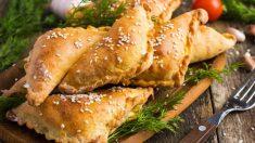 Receta de empanada de pollo y pimientos