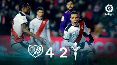 El Rayo Vallecano gana al Celta. (EFE)