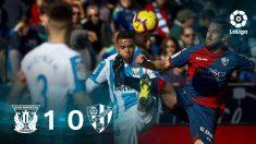 El Leganés gana al Huesca. (EFE)