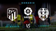 Liga Santander 2018-2019: Atlético – Levante| Horario del partido de fútbol de Liga Santander.