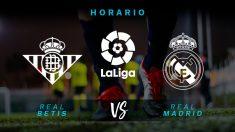 Liga Santander 2018-2019: Betis – Real Madrid| Horario del partido de fútbol de Liga Santander.