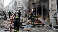 Imágenes de la explosión en París