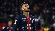 Neymar, en un partido reciente del PSG (AFP).