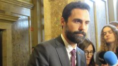 Roger Torrent, presidente del Parlament de Cataluña. Foto: Europa Press