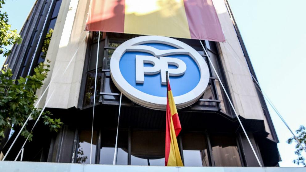 Sede del PP en Génova (Madrid).