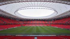 El estadio de San Mamés, sede de la Eurocopa 2021.