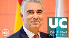Ernesto Anabitarte, vicerrector primero de Ordenación Académica y de Profesorado de la Universidad de Cantabria