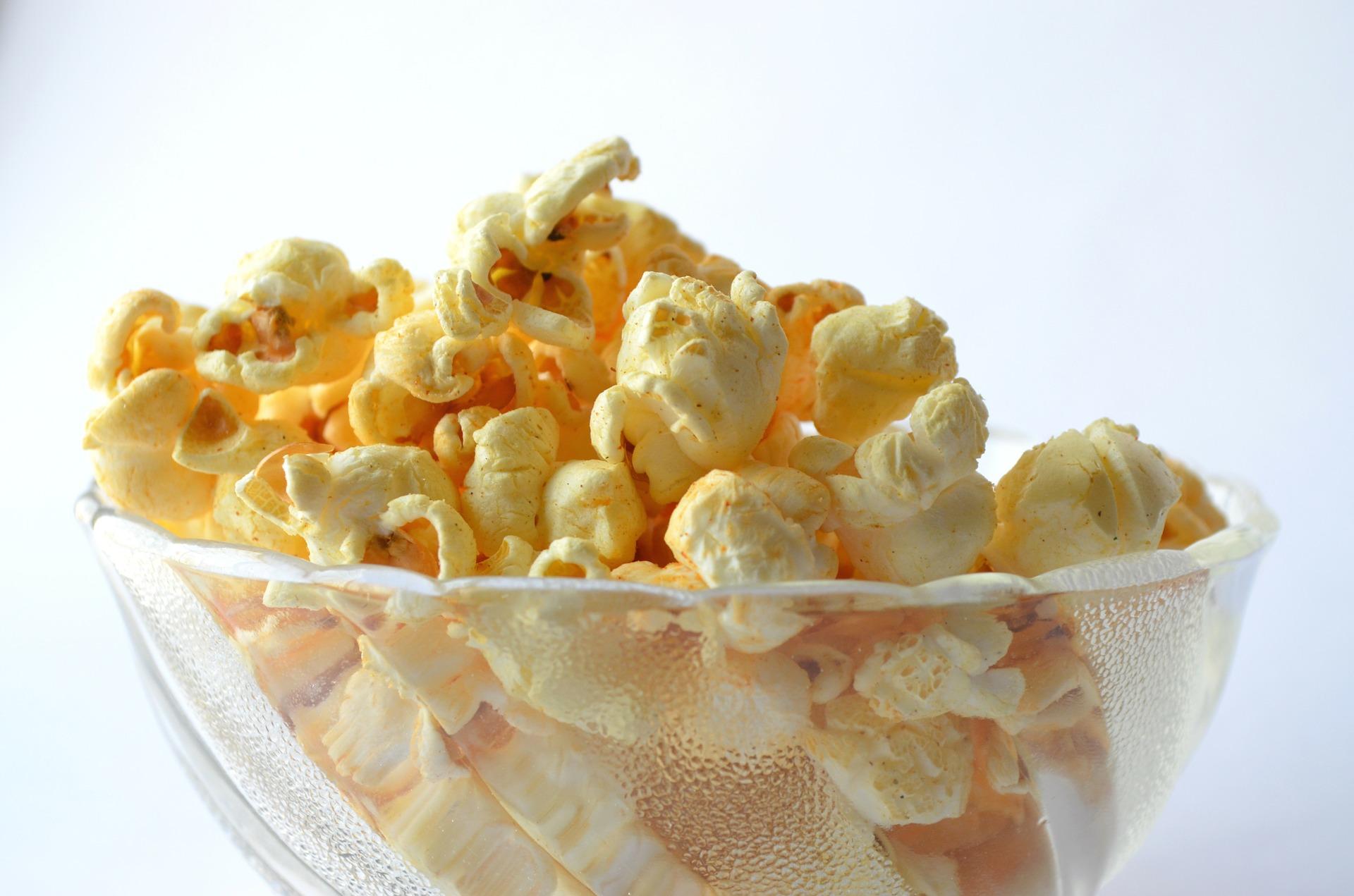 Palomitas de maíz: ¿son buenas? ¿cuántas calorías tienen?