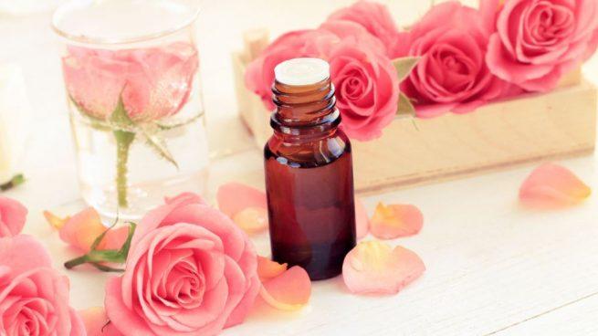 aceite de rosas