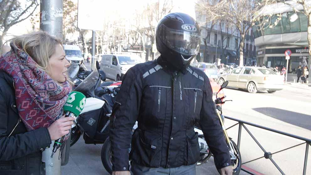 Sergio Ríos, el chófer de Bárcenas a su llegada al juzgado. Foto: OKDIARIO