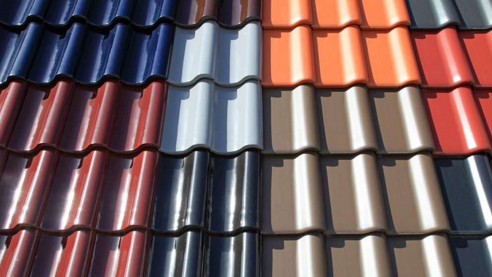 El color de las tejas puede ser variado según diversas características