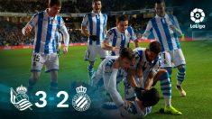 Liga Santander | Real Sociedad – Espanyol: partido de la jornada 18 en directo.