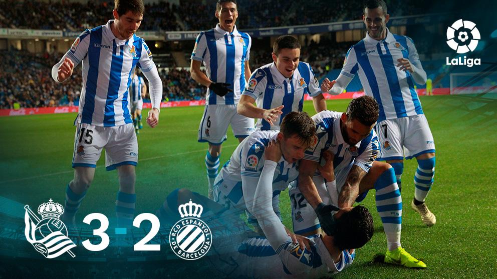 Liga Santander   Real Sociedad – Espanyol: partido de la jornada 18 en directo.