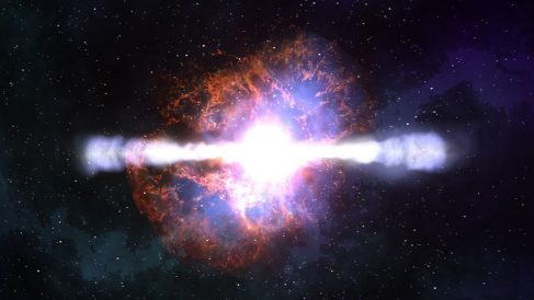 Descubre si hemos captado por primera vez el nacimiento de un agujero negro