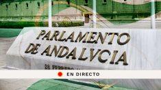 Sigue la sesión de investidura de Juanma Moreno en el Parlamento andaluz.