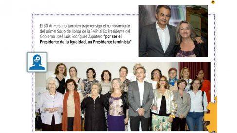 Zapatero es socio de honor de la asociación que impulsa las protestas callejeras contra la investidura de Moreno en Andalucía