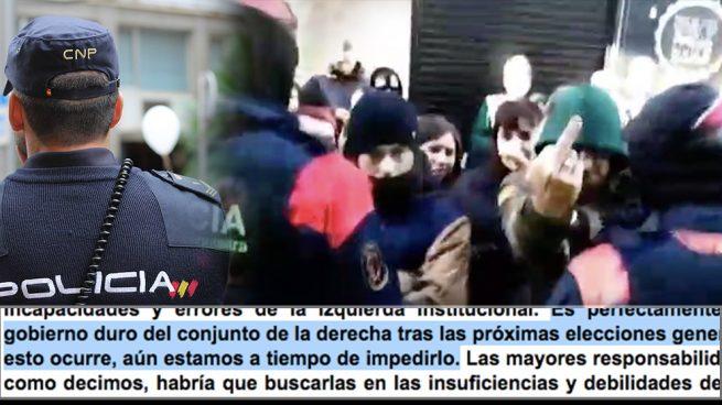La policía detecta cómo la izquierda radical 'durmiente' se reorganiza para atacar a VOX