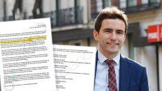 Pedro Casares, el líder del PSOE de Santander implicado en el fraude de las firmas falsificadas de la Universidad de Cantabria