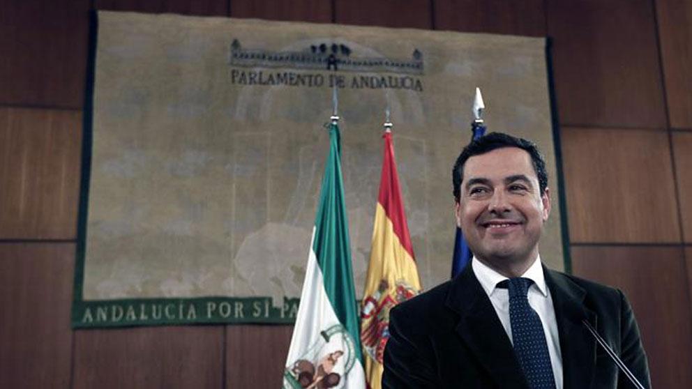El presidente de la Junta de Andalucía, Juanma Moreno. EFE