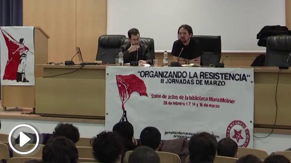 Cuando Pablo Iglesias se jactaba de colaborar con el régimen iraní de los ayatolá en su programa Fort Apache: «¡Así es la política!»