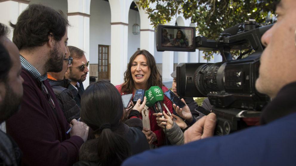 La secretaria general del PP-A, Loles López. Foto: Europa Press